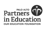 Palo Alto Partners in Education logo