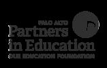 Palo Alto Partners in Education logo
